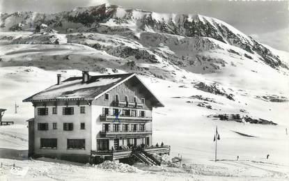 """CPSM FRANCE 38 """" L'Alpe d'Huez """" / SPORT D'HIVER"""
