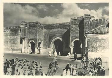 """CPSM / PHOTO MAROC """"Devant Bab Mansour"""""""