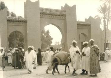 """CPSM / PHOTO MAROC """"Rissani, l'entrée du marché"""""""