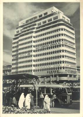 """CPSM / PHOTO LE MAROC ARTISTIQUE / Ed. ART MAROC """"Casablanca, place de France"""""""