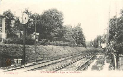 "CPA FRANCE 92 ""Bois Colombes, ligne de Saint Germain"""