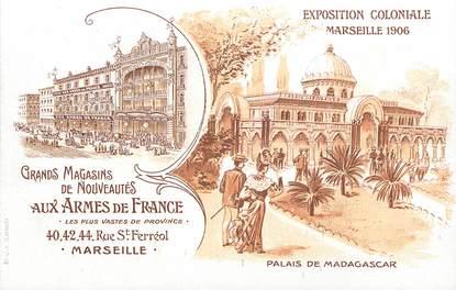 "CPA FRANCE 13 ""Marseille, Exposition coloniale 1906, Palais de Madagascar"""