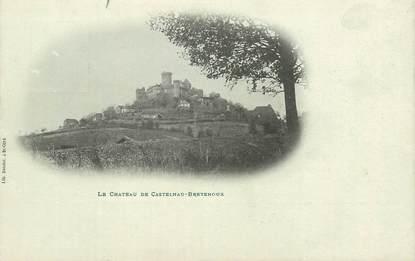 """CPA FRANCE 46 """"Le Chateau de Castelnau Bretenoux"""""""