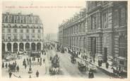 """75 Pari CPA FRANCE 75002 Paris, rue de Rivoli, vue prise de la Place du palais royal"""""""
