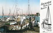"33 Gironde CPSM FRANCE 33 "" Arcachon, les Sardiniers """