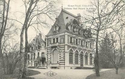"""CPA FRANCE 21 """" Is sur Tille, château Veil Picard """""""