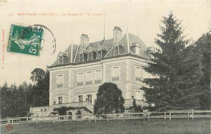 """CPA FRANCE 21 """" Montbard, château """""""