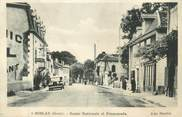 "32 Ger CPA FRANCE 32 "" Mielan, route nationale, hotel """