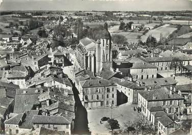 """CPSM FRANCE 32 """" Eauze, église, collège """""""