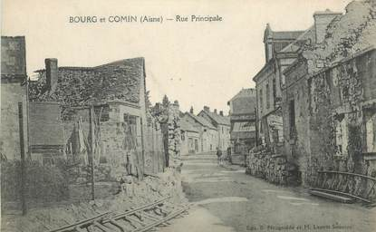 "CPA FRANCE 02 ""Bourg et Comin"""