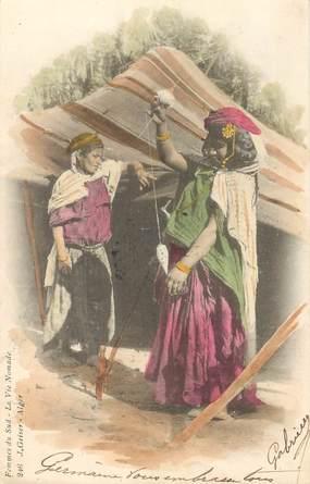 CPA LA FEMME / SCENES ET TYPES / GEISER
