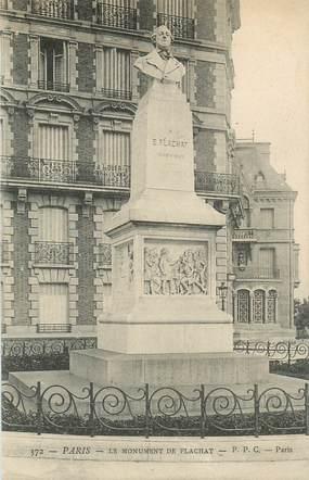 """CPA FRANCE 75017 """"Paris, Le monument de Flachat"""""""
