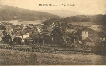 """CPA FRANCE 39 """"Mouchard, vue générale"""""""