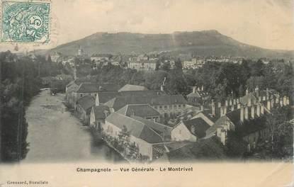 """CPA FRANCE 39 """"Champagnole, vue générale, le Montrivel"""""""