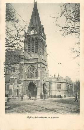 """CPA FRANCE 75018 """"Paris, Eglise Saint Denis de l'Estrée"""""""