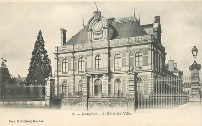 "CPA FRANCE 49 ""Beaufort, Hotel de Ville"""