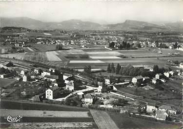 """CPSM FRANCE 38 """"Saint André le Gaz, vue panoramique aérienne"""""""