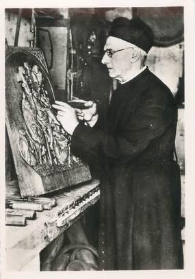 """CPSM FRANCE 35 """"Rotheneuf, Mr l'Abbé Quémerais"""""""
