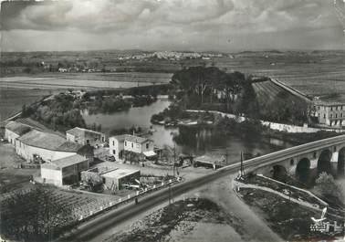 """CPSM FRANCE 34 """"Lunel, le pont de Lunel"""""""