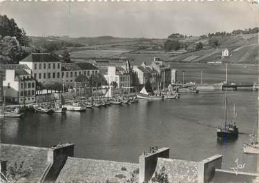 """CPSM FRANCE 29 """"Audierne, le port de pêche à marée haute"""""""