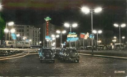 """CPSM MAROC """"Casablanca, la place de France"""""""
