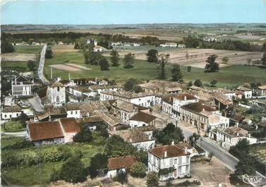 """CPSM FRANCE 33 """"Marcillac, vue aérienne du centre """""""