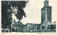 """Algerie CPSM ALGERIE """"Oran, la mosquée et l'église Saint Louis"""""""