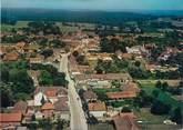 """10 Aube CPSM FRANCE 10 """"Lusigny sur Barse, vue générale aérienne"""""""