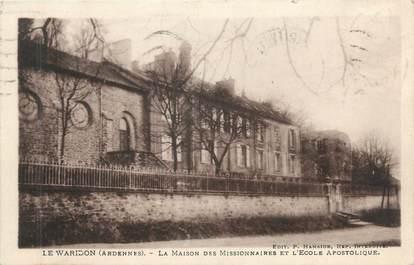 """CPA FRANCE 08 """"Waridon, la maison des missionnaires et l'école apostolique"""""""