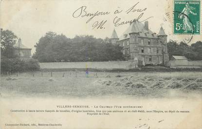 "CPA FRANCE 08 ""Villers Semeuse, le château"""