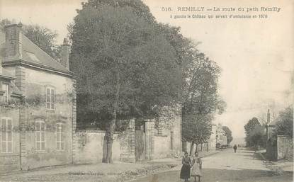 """CPA FRANCE 08 """"Remilly, la route du petit Remilly"""""""