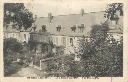 """CPA FRANCE 08 """"Rethel, le château Mazarin"""""""
