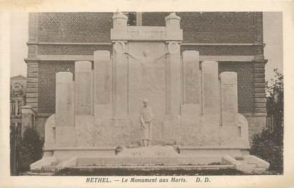 """CPA FRANCE 08 """"Rethel, le monument aux morts"""""""