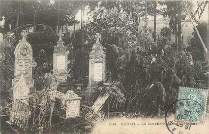 "CPA FRANCE 08 ""Sedan, le cimetière """