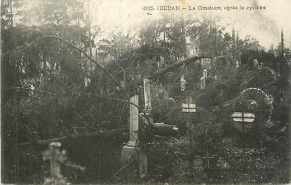 """CPA FRANCE 08 """"Sedan, le cimetière après le cyclone"""""""