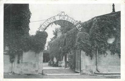 """CPSM FRANCE 51 """"Sept Sault, hôtel du cheval Blanc"""""""