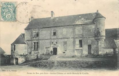 """CPA FRANCE 27 """"Ferme du Bus, l'ancien chateau"""""""