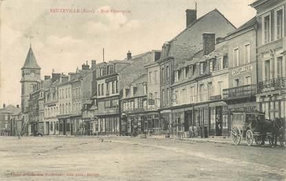"""CPA FRANCE 27 """"Beuzeville, la rue principale"""""""