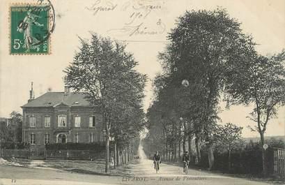 "CPA FRANCE 14 ""Livarot, Avenue de Vimoutiers """