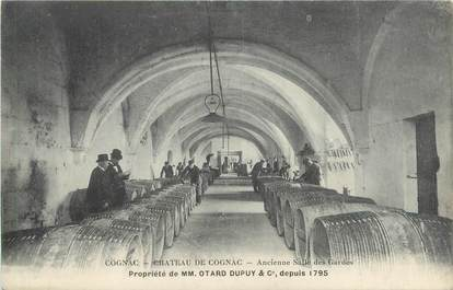 """CPA FRANCE 16 """"Château de Cognac, ancienne salle des Gardes"""""""