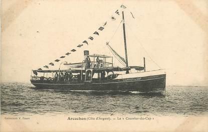 """CPA FRANCE 33 """"Arcachon, le courrier du Cap"""""""