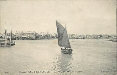 "CPA FRANCE 50 ""Saint Vaast la Hougue, le port"""