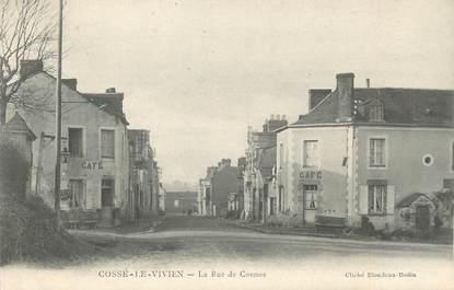 "/ CPA FRANCE 53 ""Cossé le Vivien, la rue de Cosmes"""