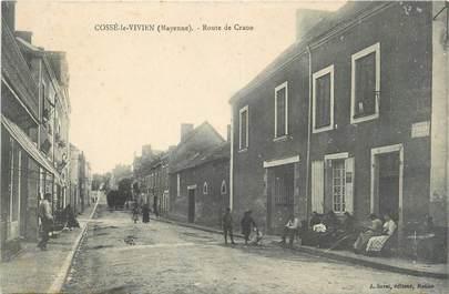 """/ CPA FRANCE 53 """"Cossé le Vivien, route de Craon """""""