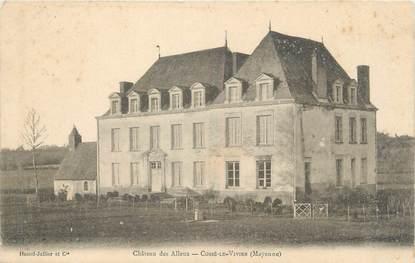 """/ CPA FRANCE 53 """"Cossé le Vivien, château des Alleux"""""""