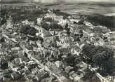 """52 Haute Marne / CPSM FRANCE 52 """"Bourbonne les Bains, vue aérienne sur le centre de la ville """""""