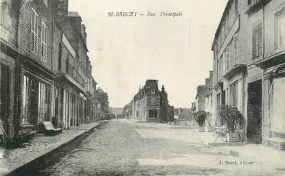 """/ CPA FRANCE 50 """"Saint James, rue Saint Jacques"""""""
