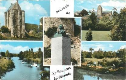 """/ CPSM FRANCE 50 """"Saint Sauveur le Vicomte"""""""
