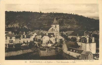 """/ CPA FRANCE 48 """"Marvejols, l'église, vue générale"""""""