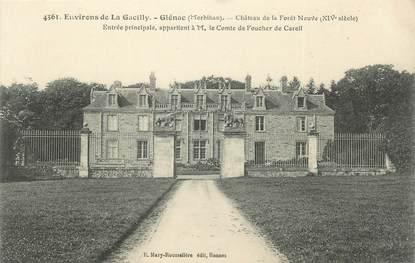 """/ CPA FRANCE 56 """"Glénac, château de la forêt neuve"""""""